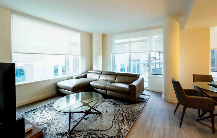Yates on Yates #403 Fully Furnished Suite Living Area